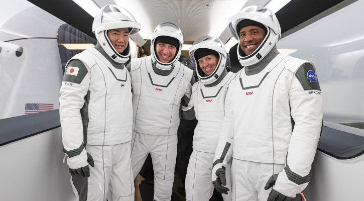 spacex NASA dragon crew launch