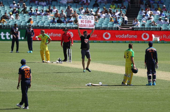 Stop Adani, Stop Adani Protest, Stop Adani Australia, Stop Adani Mine, Adani Australia,  Ind vs Aus