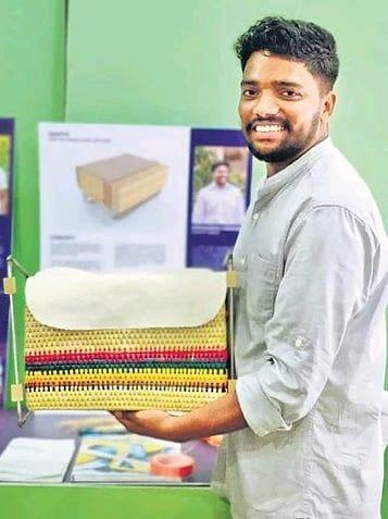 Bengaluru Man Creates Schoolbag That Turns Into A Desk