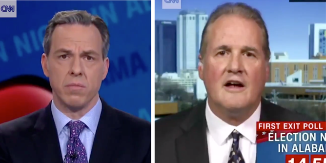 g exchange that took place between CNN correspondent Jake Tapper and Republican official Ted Crockett in 2017.
