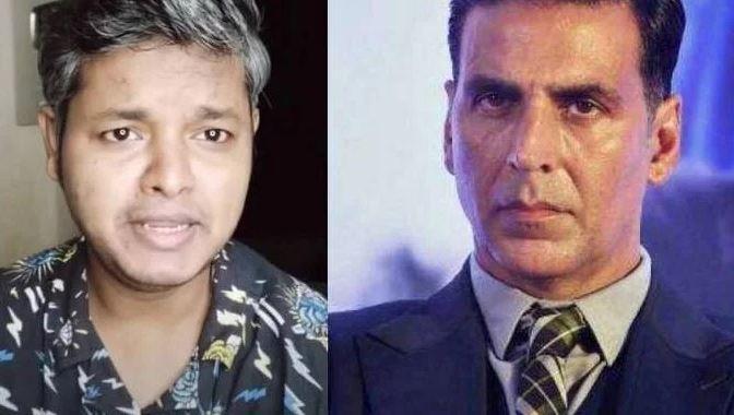 YouTuber Rashid Siddiquee and Akshay Kumar / Indiatimes