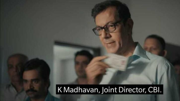 Actor Rajat Kapoor plays the role of K Madhavan in Scam 1991: The Harshad Mehta Story / Sony LIV
