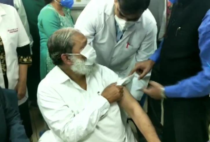 Anil Vij, Anil Vij Minister, Anil Vij Vaccine, Trial Dose Of Covaxin