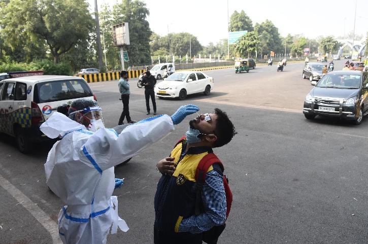 Delhi Noida Border, Delhi COVID-19 Test