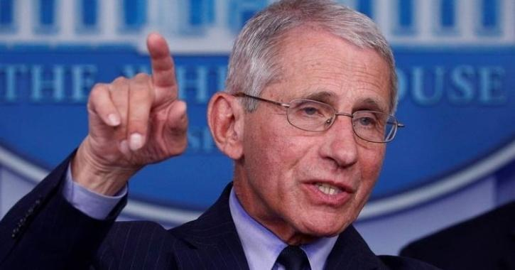 Moderna COVID-19 vaccine reaction Dr Anthony Fauci