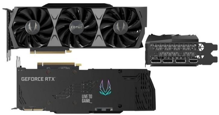 Zotac Trinity RTX 3090 GPU