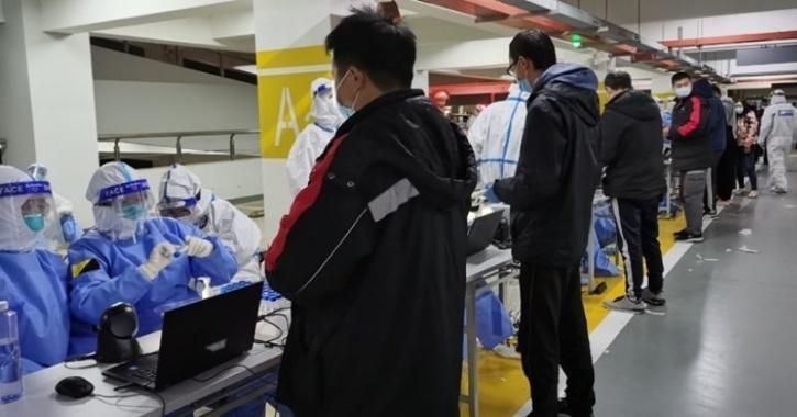 covid-19 shanghai airport