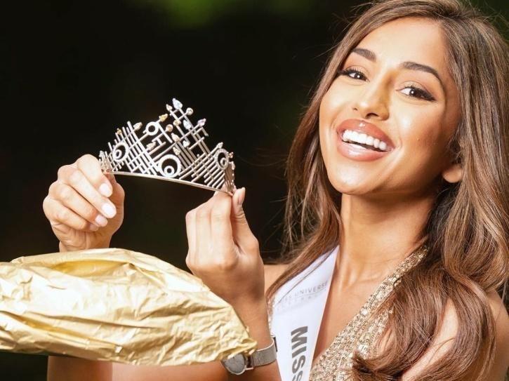 Maria Thattil wins Miss Universe Australia 2020