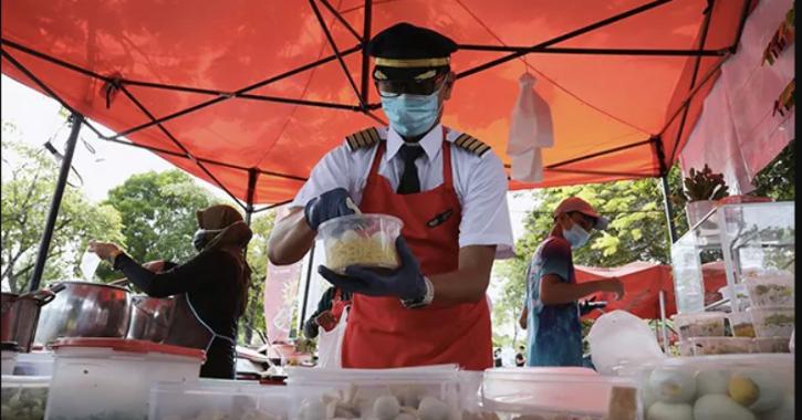 After losing job amid pandemic, Malaysian pilot