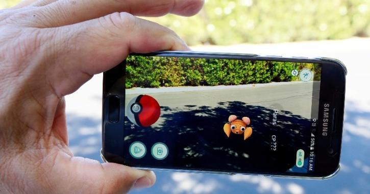 pokemon go smartphone game