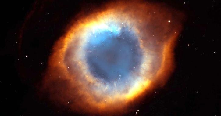 Helix Nebula NASA Screaming Eye Sound