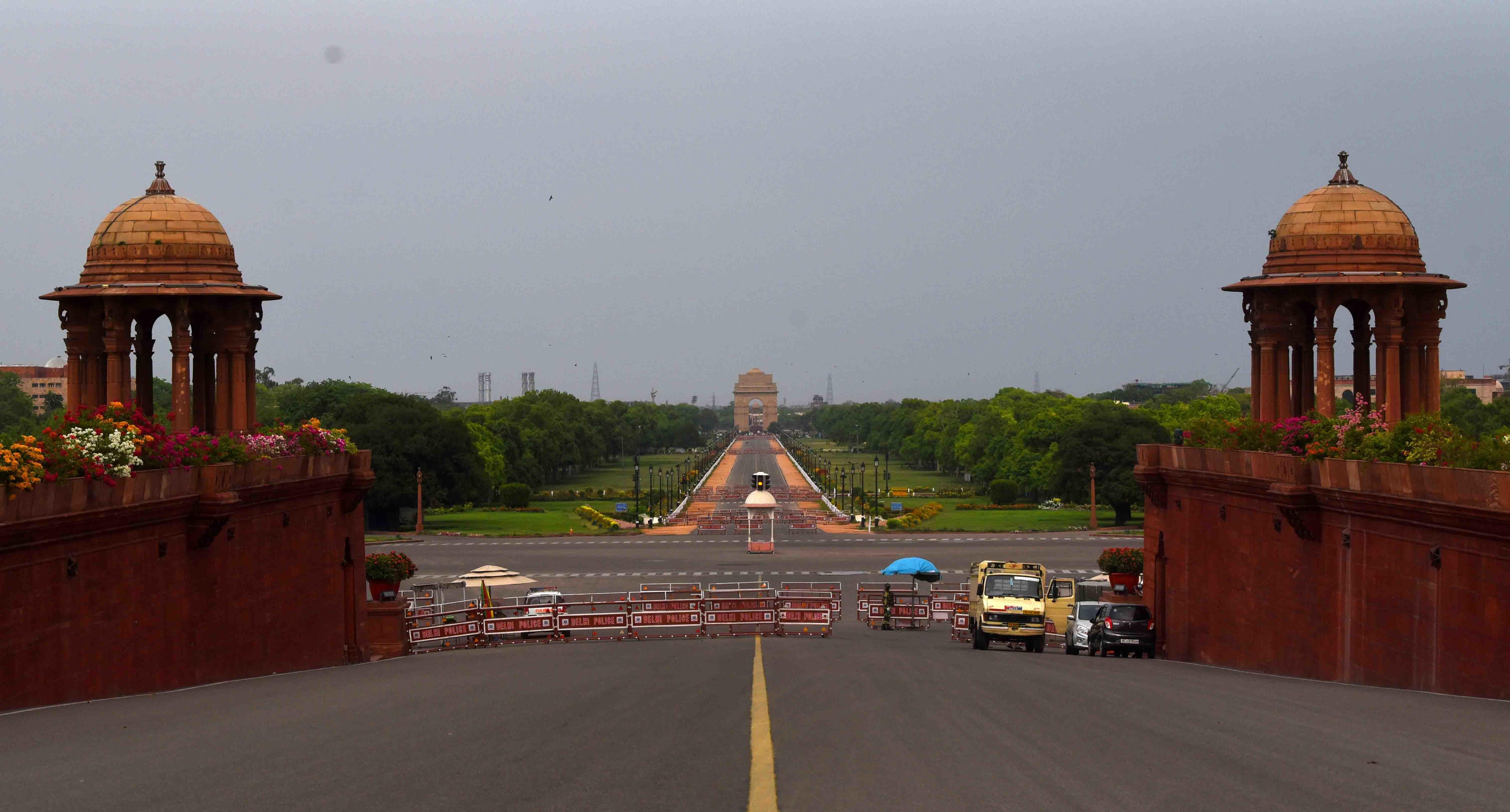 Rajpath Before & After