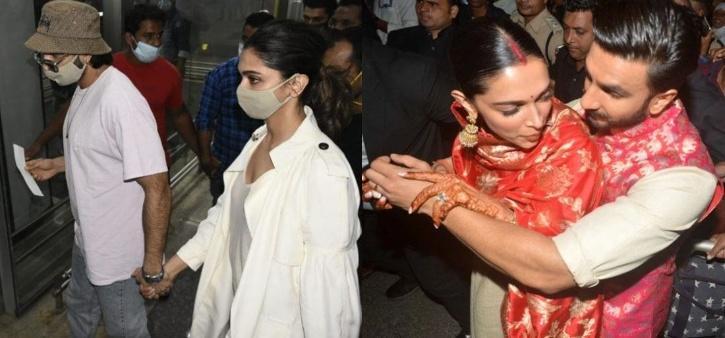 Ranveer Singh and Deepika Padukone / Agencies