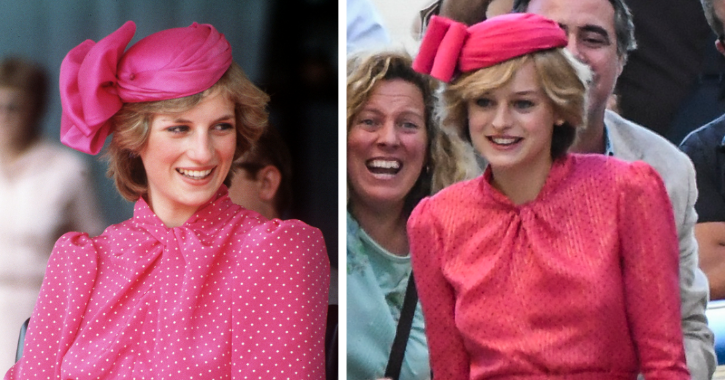 Emma Corrin as Princess Diana