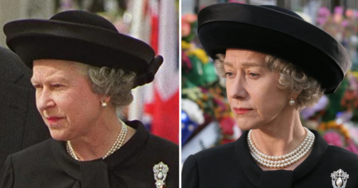 Helen Mirren as Queen Elizabeth
