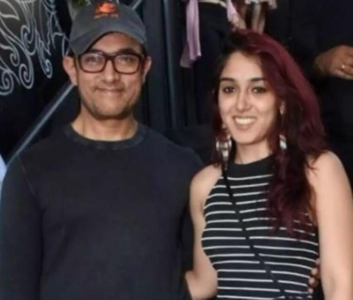 Aamir Khan with daughter Ira Khan / Agencies