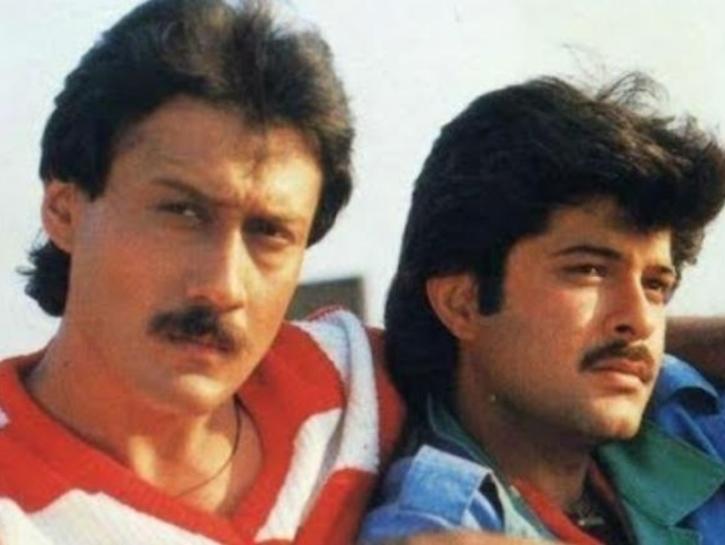 Anil Kapoor and Jackie Shroff in Parinda / Twitter
