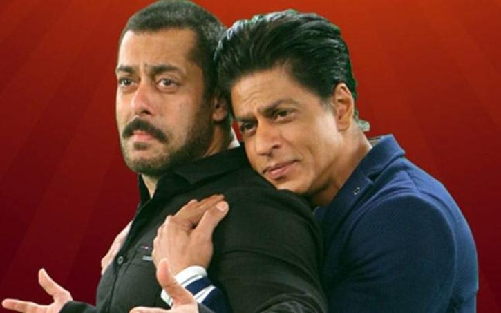 Salman Khan and Shah Rukh Khan / Twitter