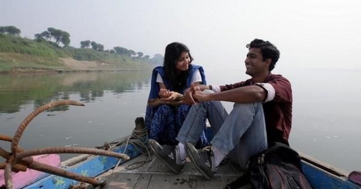 Vicky Kaushal and  Shweta Tripathi in Masaan / Twitter
