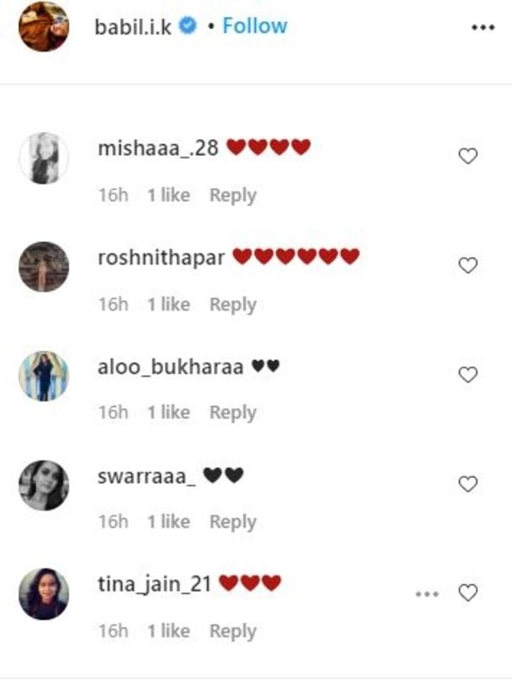 Babil Khan / Instagram