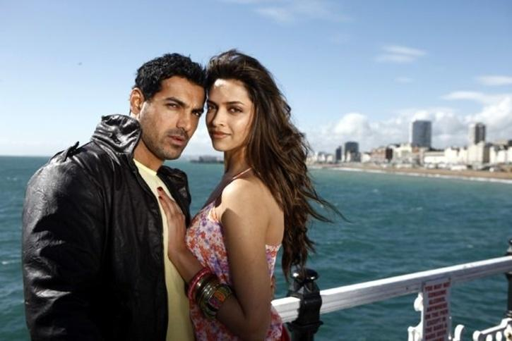 John Abraham and Deepika Padukone / Getty Images