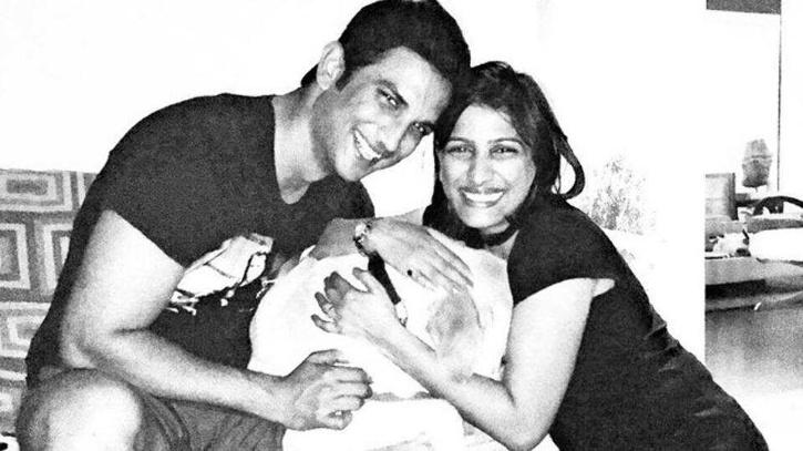 Actor Sushant Singh Rajput with sister Priyanka Sigh / Agencies