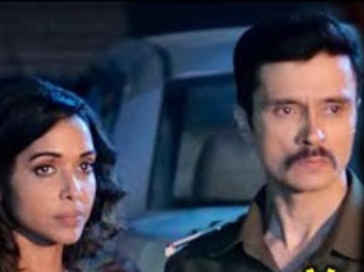 Aashram Actress Anupria Goenka with Darshan Kumaar