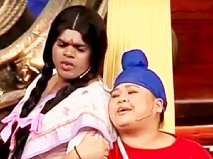 Bharti Singh in comedy circus.