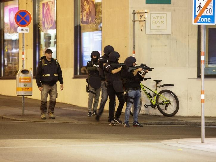 The attacks started at around 8 pm when the first gunshots were heard in the city