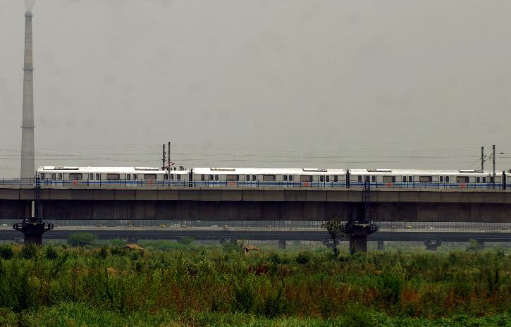 Delhi Metro Before & After