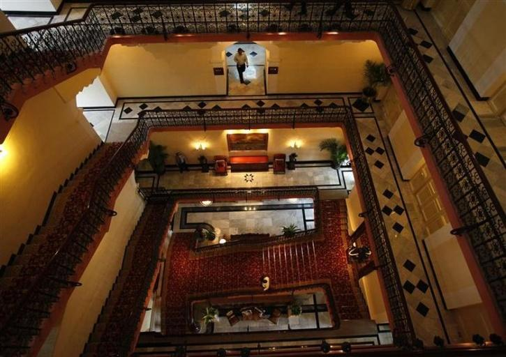 A look inside the heritage wing of hotel Taj Palace in Mumbai when it reopened in August 2010