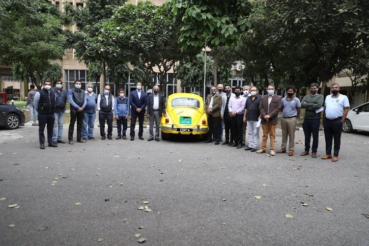 IIT Delhi upgrades a classic Beetle to an EV