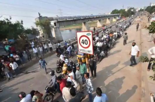 Hyd cop clears traffic