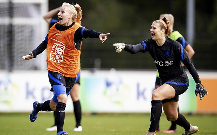 Dutch women football team