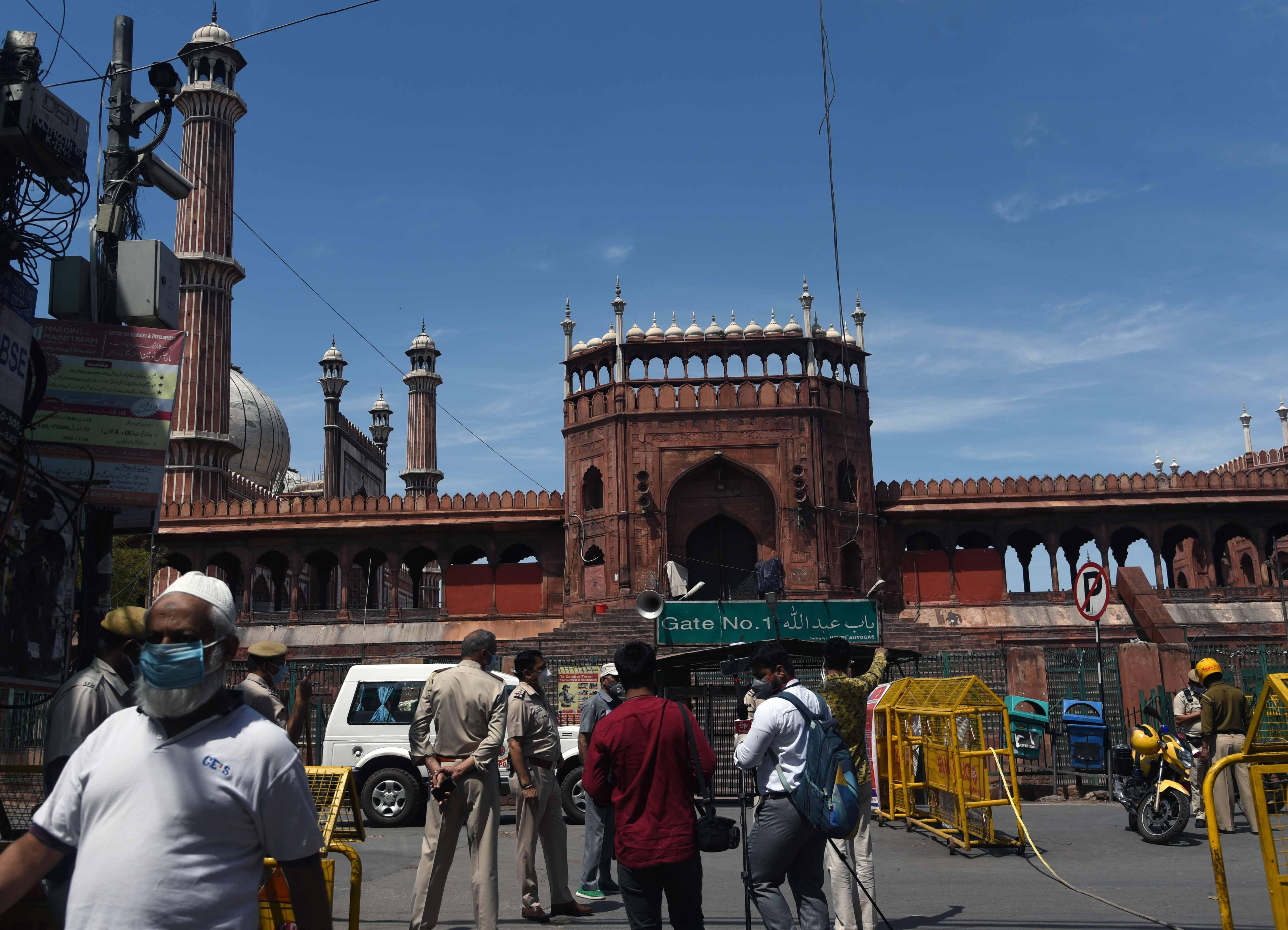 Jama Masjid Before & After