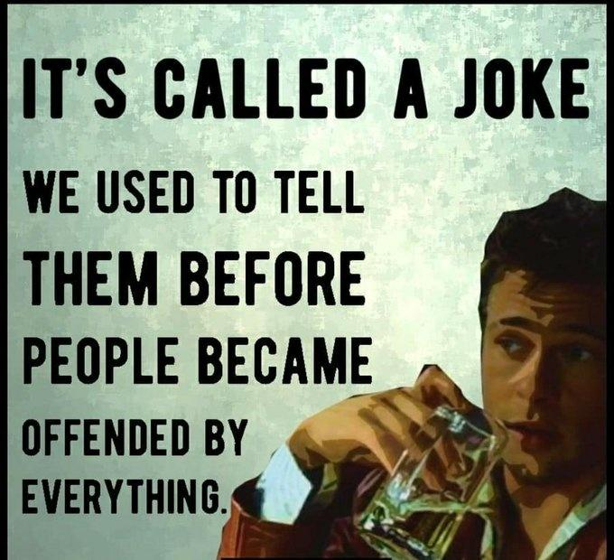 Why jokes are offensive
