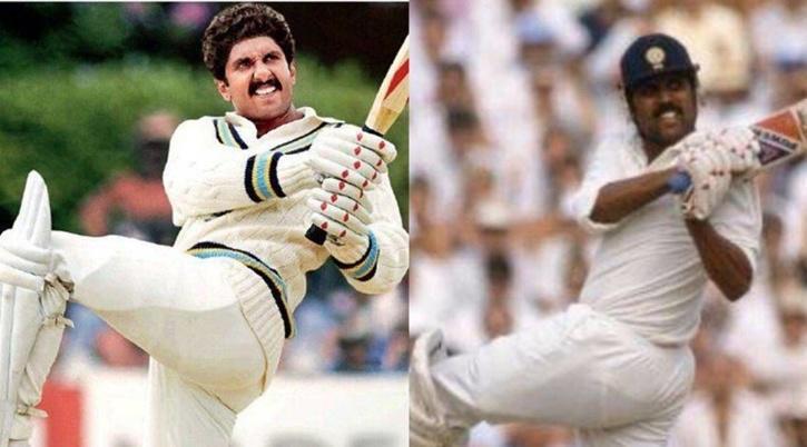 Ranveer Singh and Kapil Dev / Indiatimes