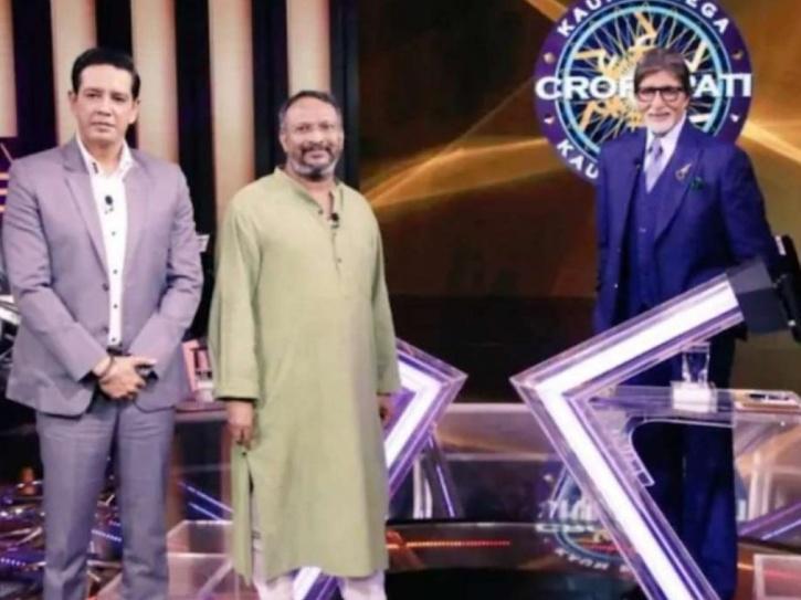 Kaun Banega Crorepati episode featuring social activist Bezwada Wilson along with actor Anup Soni.
