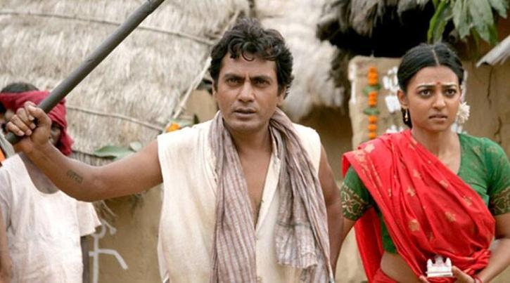 Nawazuddin Siddiqui and Radhika Apte in Manjhi: The Mountain Man / Twitter