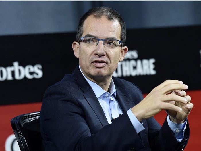 Chief Executive Stephane Bancel