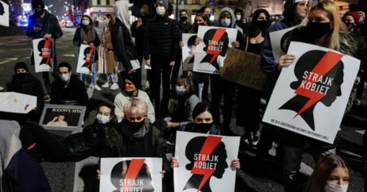 poland abortion ban protests