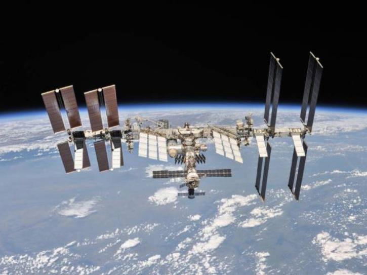 ISS sun image