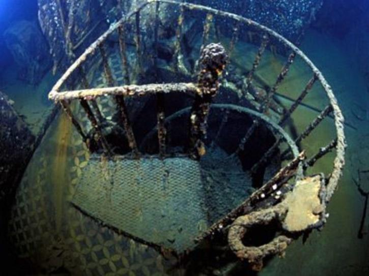 You can visit Titanic wreck underwater.