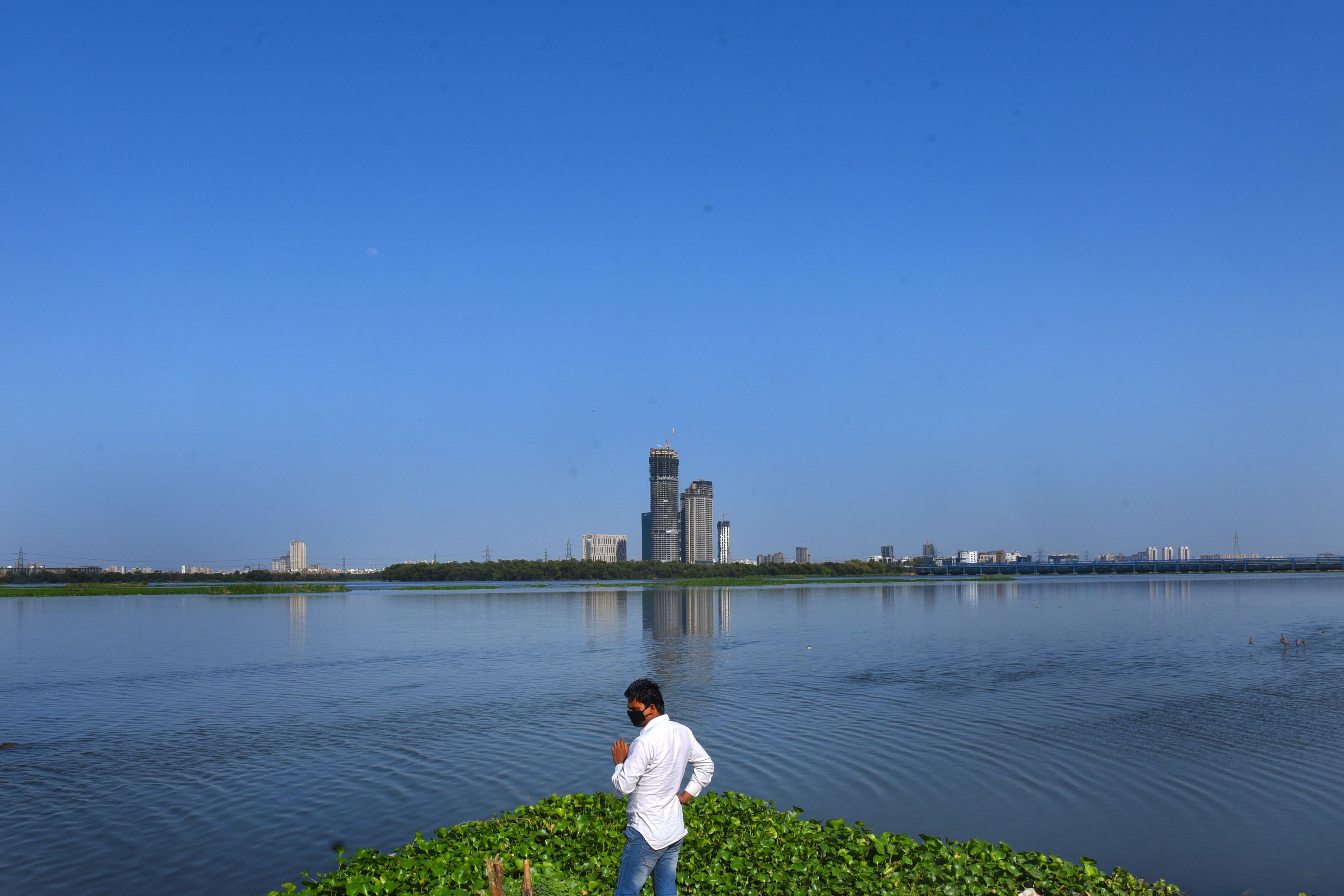 Yamuna River Before & After