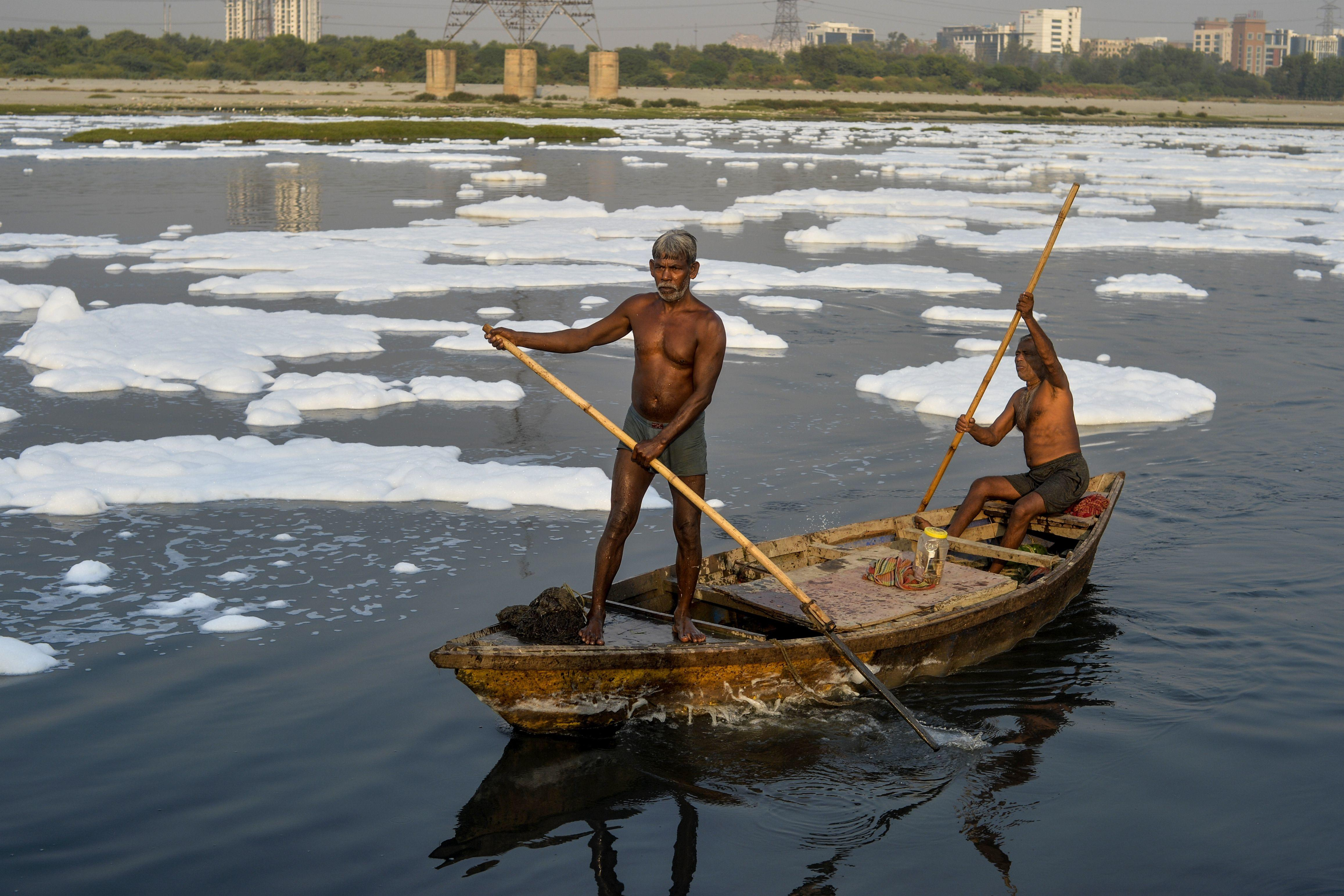 Yamuna Before And After 6
