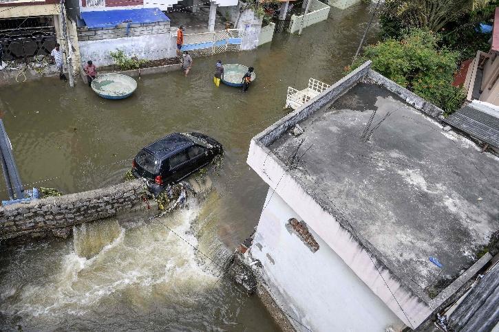 Hyderabad Floods Death