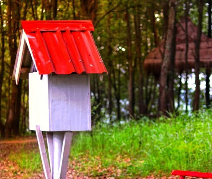 The mini-libraries at Halang Park