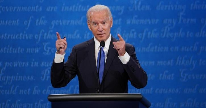 Joe Biden said that if he is elected he would be focused on bringing the pandemic to heel,