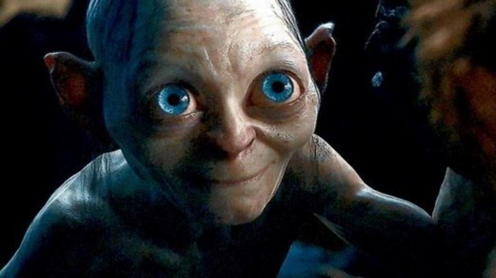 Gollum in Lord of the Rings