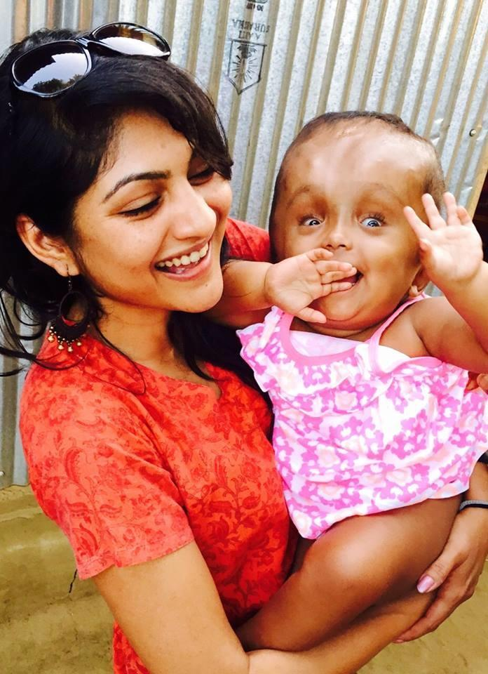 Baby Roona and Pavitra Chalam